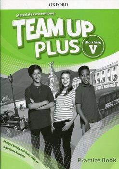 Team Up Plus 5. Język angieski. Materiały ćwiczeniowe + Online Practice. Szkoła podstawowa-Bowen Philippa, Delaney Denis, Newbold David
