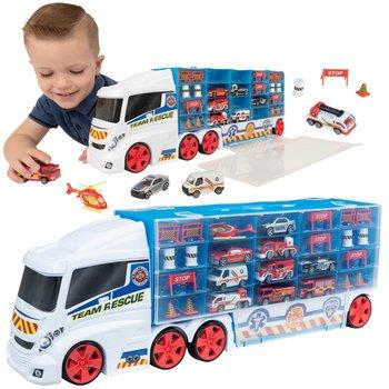 TeamsterZ, pojazd Transporter na resoraki