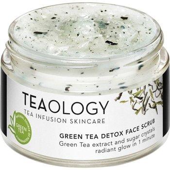 Teaology, Green Tea, detoksykujący peeling do twarzy, 50 ml-Teaology