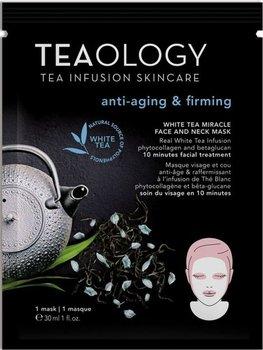 Teaology, White Tea, przeciwzmarszczkowa maseczka na twarz i szyję, 30 ml-Teaology