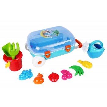 Technok, zabawki do piasku w walizce, zestaw -Technok