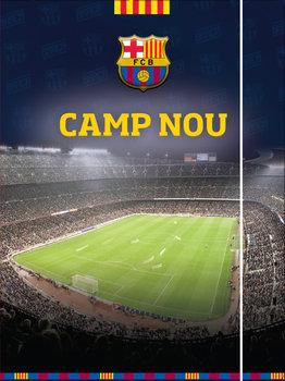 Teczka z gumką, A4, FC Barcelona-MST Toys