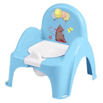 Tega Baby, Nocnik/Krzesełko, Leśna opowieść, Jasnoniebieski-Tega Baby