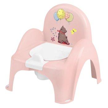 Tega Baby, Nocnik/Krzesełko, Leśna opowieść, Jasnoróżowy-Tega Baby