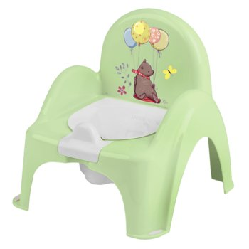 Tega Baby, Nocnik/Krzesełko z pozytywką, Leśna opowieść, Jasnozielony-Tega Baby