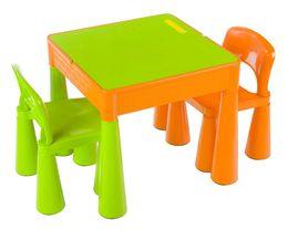 Tega, Mamut, zestaw: stolik i 2 krzesełka-Tega Baby