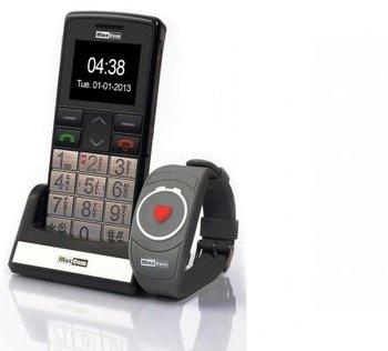 Telefon komórkowy MAXCOM MM 715 BB SOS + bransoletka SOS-Maxcom