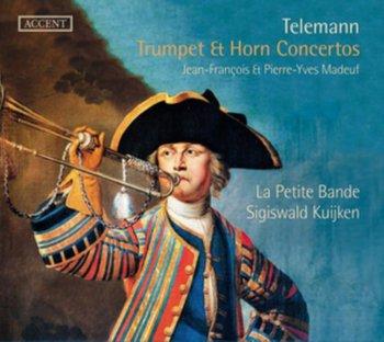 Telemann: Trumpet & Horn Concertos-Madeuf Jean-François, Madeuf Pierre-Yves, La Petite Bande