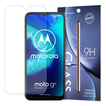 Tempered Glass szkło hartowane 9H Motorola Moto G8 Power Lite (opakowanie – koperta)-Hurtel