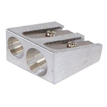 Temperówka aluminiowa, podwójna