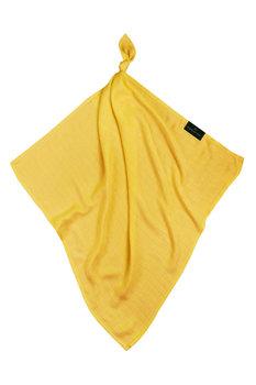 Texpol, Otulacz/Pielucha bambusowa, Classic, Żółty, 30X30 cm-Texpol