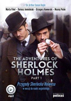 The Adventures of Sherlock Holmes. Part 1. Przygody Sherlocka Holmesa w wersji do nauki angielskiego-Doyle Arthur Conan, Fihel Marta, Jemielniak Dariusz, Komerski Grzegorz, Polak Maciej