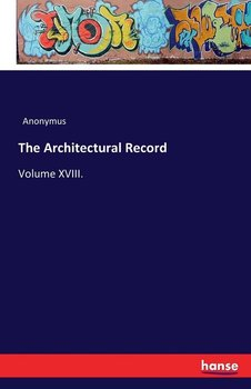 The Architectural Record-Anonymus