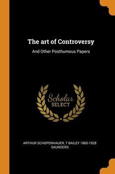 The art of Controversy-Schopenhauer Arthur