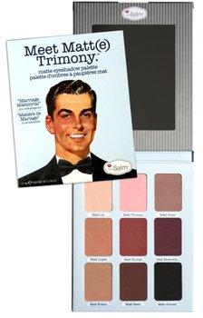 The Balm, Meet Matte Trimony, paleta matowych cieni do powiek, 21,6 g-The Balm