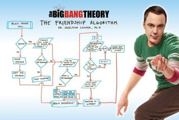 The Big Bang Theory - Friendship Algorithm - plakat 91,5x61 cm-Pyramid Posters