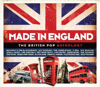 The British Pop Anthology - Made In England - Procol Harum, The Beatles, Smokie, John Elton, Fleetwood Mac, Joy Division, Cocker Joe, T. Rex, Stewart Rod