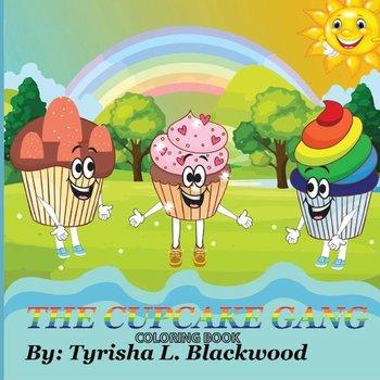 The Cupcake Gang Coloring Book-Blackwood Tyrisha  L