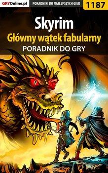 The Elder Scrolls V: Skyrim - główny wątek fabularny - poradnik do gry-Hałas Jacek Stranger