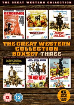 The Great Western Collection: Volume Three (brak polskiej wersji językowej)-Barboni Enzo, Sherman George, Sturges John, Mclaglen Andrew, Laven Arnold, Fleischer Richard