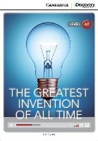 The Greatest Invention of All Time Low Intermediate Book with Online Access - Harris Nic