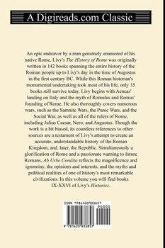 The History of Rome (Books IX-XXVI)-Livy Titus Livius