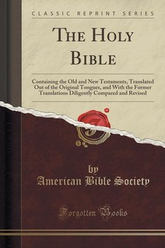 The Holy Bible - Society American Bible