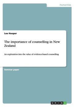 The importance of counselling in New Zealand-Hooper Lee