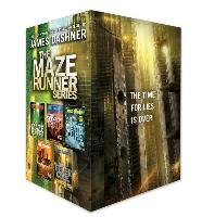 The Maze Runner Series Complete Collection Boxed Set-Dashner James