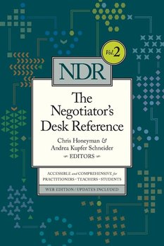 The Negotiator's Desk Reference