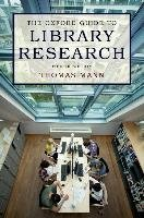 The Oxford Guide to Library Research-Mann Thomas