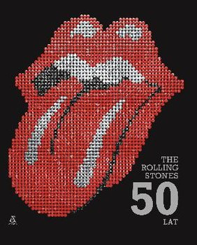 The Rolling Stones 50 lat-Jagger Mick, Richards Keith, Watts Charlie, Wood Ronnie