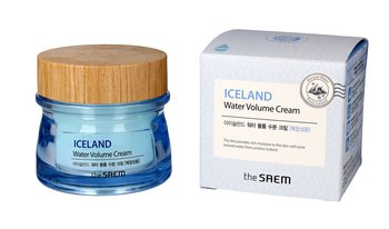 The Saem, Iceland Water Volume, krem nawilżający do twarzy - cera mieszana, 80 ml - The Saem