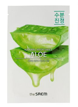 The Saem, Natural Mask Sheet, maska na tkaninie Aloe, 21 ml - The Saem