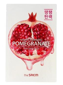 The Saem, Natural Mask Sheet, maska na tkaninie Pomegranate, 21 ml-The Saem