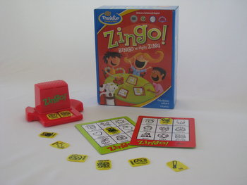 Thinkfun, gra interaktywna Zingo! Bingo w stylu Zing-Thinkfun
