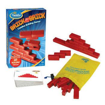 Thinkfun, gra logiczna Brick By Brick-Thinkfun