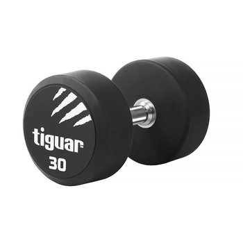 Tiguar, Hantel, czarno-biały, 30 kg-tiguar