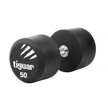 Tiguar, Hantel, czarno-biały, 50 kg-tiguar
