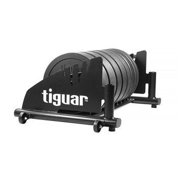 Tiguar, Zestaw talerzy bumpery, czarny, 5-20 kg-tiguar