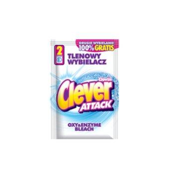Tlenowy wybielacz w proszku CLEVER Attack, 60 g-Clever