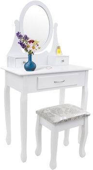 Toaletka Kosmetyczna Furnide Z Lustrem I Taboretem Model 2034