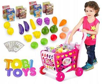 Tobi Toys, zabawka edukacyjna Wózek Sklepowy, zestaw -Tobi Toys