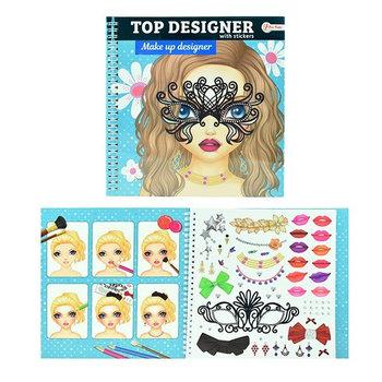 Toi-Toys, kolorowanka make-up Top Designer, 46131-Toi-Toys
