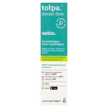 tołpa, dermo face sebio, normalizujący krem nawilżający dzień/noc, 40 ml-tołpa