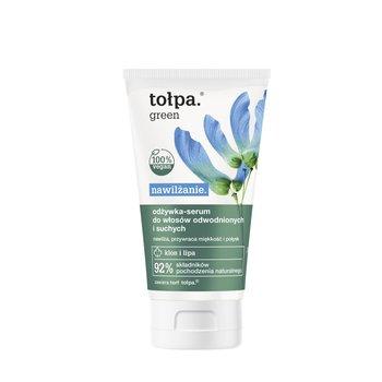 tołpa, green nawilżanie, odżywka-serum do włosów odwodnionych i suchych, 150 ml-tołpa