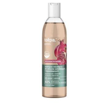tołpa, green wzmacnianie, szampon micelarny do włosów osłabionych i wypadających, 300 ml-tołpa