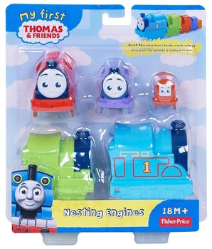 Tomek i Przyjaciele, klocki Mój pierwszy Pociąg do układania-Mattel