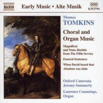 TOMKINS CHORAL AND ORGAN MUSIC - Cummings Laurence
