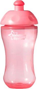 Tommee Tippee, Butelka sportowa, 300 ml, Różowa-Tommee Tippee